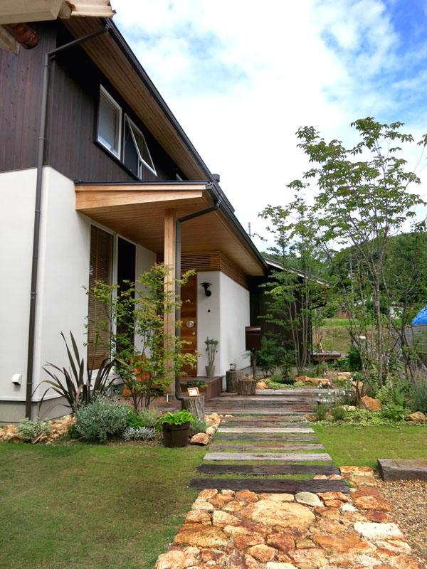 高山の庭|planta landscape design, garden design
