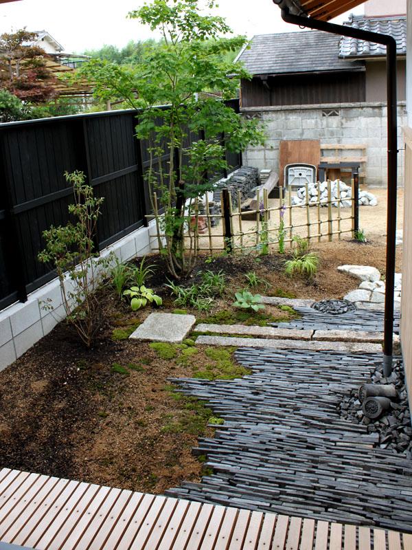 御所の庭|planta landscape design, garden design